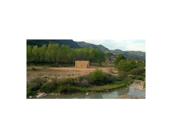 Obra en el paisaje: Alberto Carneiro, As árvores florescem em Huesca, 2006