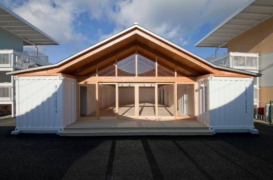 Shigeru Ban. Onagawa Community Center (Centro Comunitário de Onagawa, Japón)