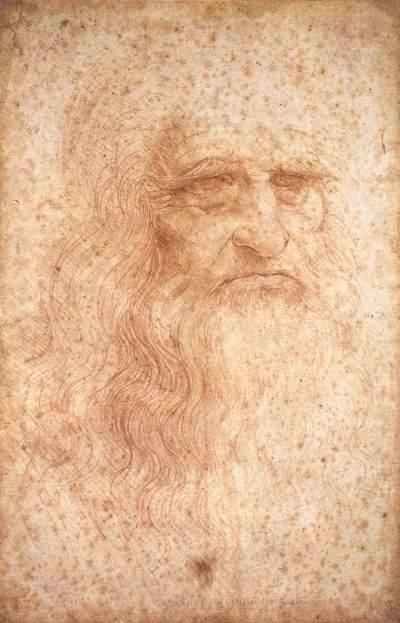 Leonardo da VInci. Autoretrato