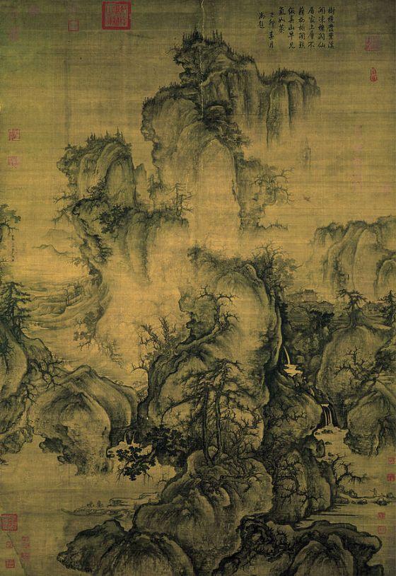 Guo Xi, Primavera