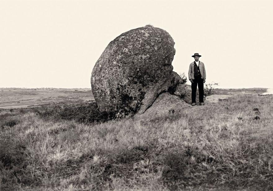 Eduardo Hernández-Pacheco. El cancho de la Herradura, monumento neolítico, Alburquerque (Badajoz), 1916. Museo Nacional de Ciencias Naturales