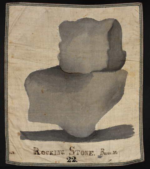 #22 Rocking Stone, Barre, Mass.