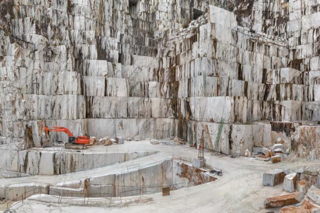 Edward Burtynsky-Carrara Marble Quarries