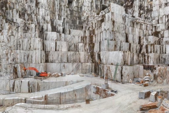 Edward Burtynsky-Carrara Marble Quarries