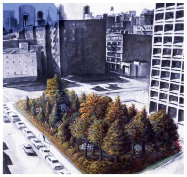 Alan-Sonfist-TimeLandscape-NYC-painting